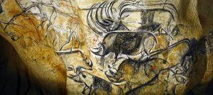 Peintures rupestres de la grotte Chauvet en Ardèche