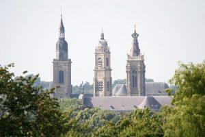 Cambrai, ville touristique et ses 3 clochers