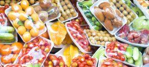Fruits emballés, est ce bien utile ? (photo actualités.réponse-conso.fr)